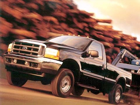 2002 Ford F250 Super Duty Regular Cab Long Bed  photo