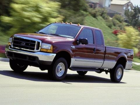 2002 Ford F250 Super Duty Super Cab Short Bed  photo