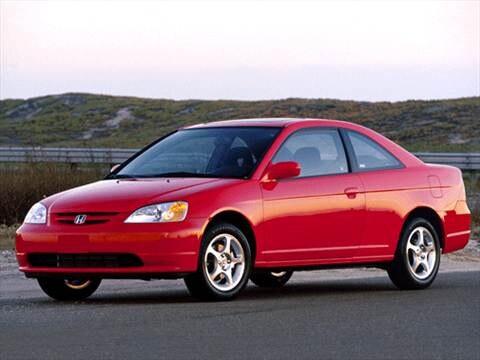 2002 Honda Civic DX Coupe 2D  photo