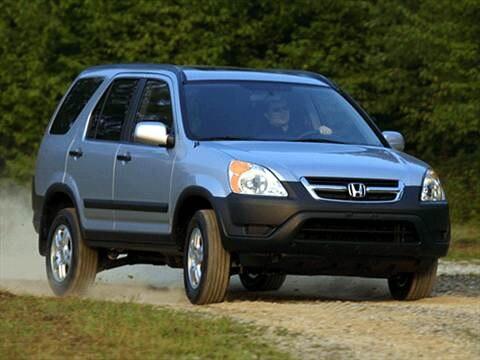 2002 Honda CR-V LX Sport Utility 4D  photo
