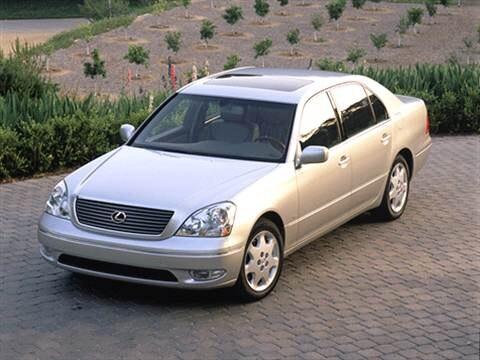 2002 Lexus LS LS 430 Sedan 4D  photo