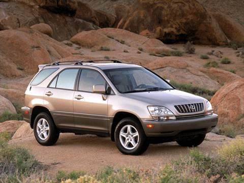 2002 Lexus RX RX 300 Sport Utility 4D  photo