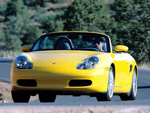 2002 Porsche Boxster Cabriolet 2D  photo