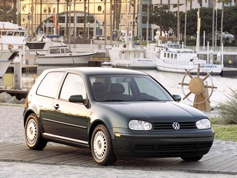 2002 Volkswagen Golf GL Hatchback 2D  photo