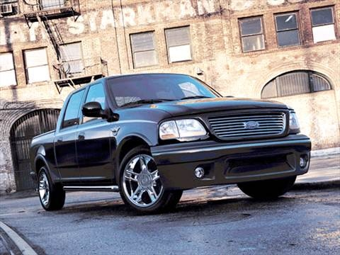 2003 Ford F150 SuperCrew Cab Harley-Davidson Pickup 4D 5 1/2 ft  photo