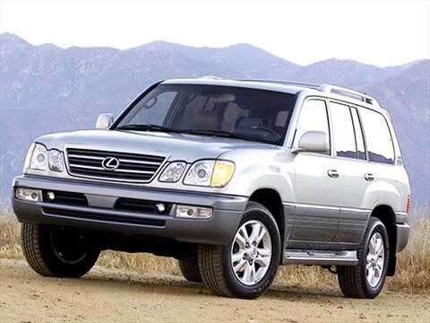 2003 Lexus LX LX 470 Sport Utility 4D  photo