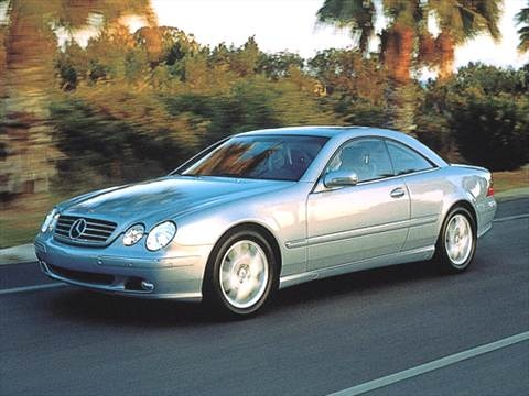 2003 Mercedes-Benz CL-Class CL500 Coupe 2D  photo