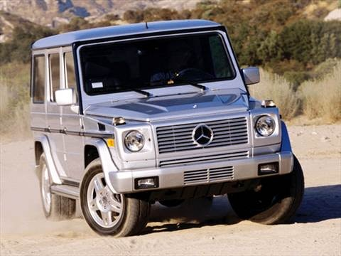 2003 Mercedes-Benz G-Class G500 Sport Utility 4D  photo