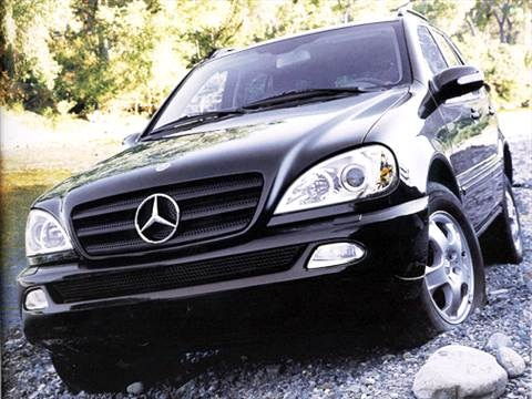 2003 Mercedes-Benz M-Class ML320 Sport Utility 4D  photo