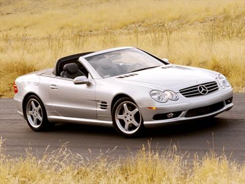 2003 Mercedes-Benz SL-Class SL500 Roadster 2D  photo