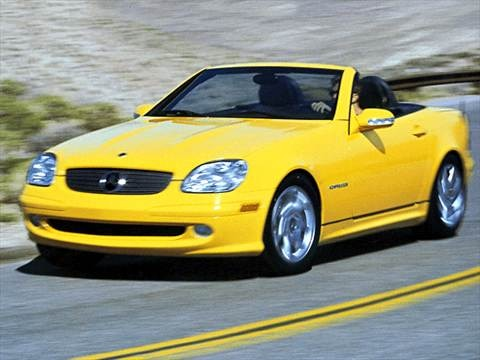 2003 Mercedes-Benz SLK-Class SLK230 Roadster 2D  photo