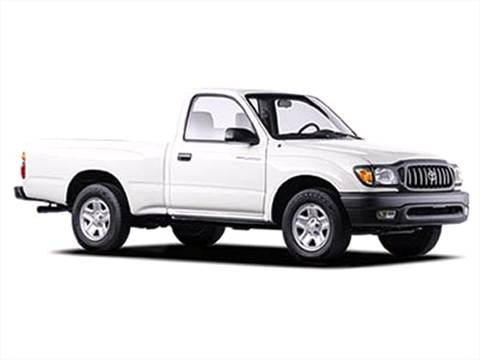 2003 Toyota Tacoma Regular Cab Pickup 2D 6 ft  photo