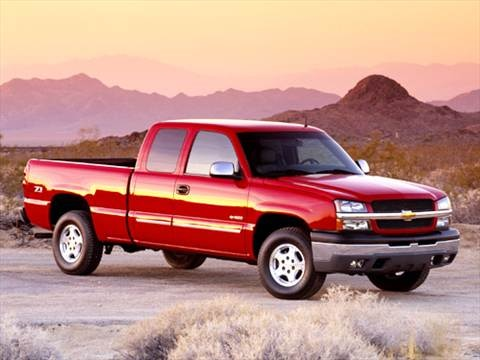 2004 Chevrolet Silverado 1500 Extended Cab Work Truck Pickup 4D 6 1/2 ft  photo