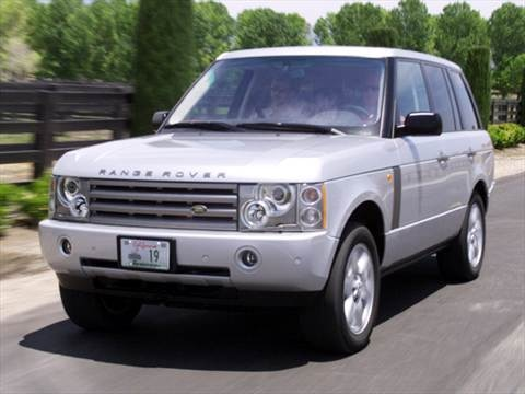 2004 Land Rover Range Rover HSE Sport Utility 4D  photo