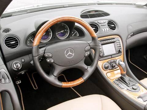 2004 Mercedes-Benz SL-Class SL500 Roadster 2D  photo
