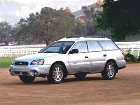 2004 Subaru Outback Wagon 4D  photo