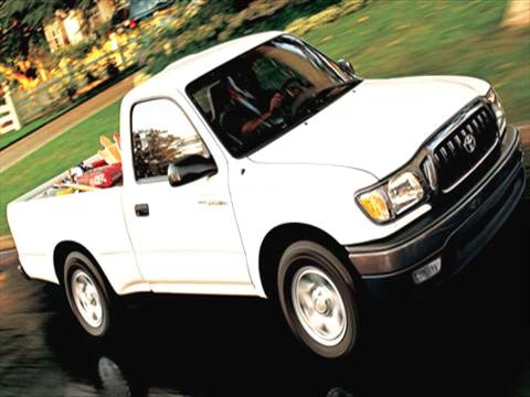 2004 Toyota Tacoma Regular Cab Pickup 2D 6 ft  photo