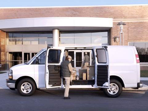 2005 Chevrolet Express 1500 Cargo Van 3D  photo