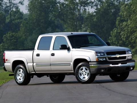 2005 Chevrolet Silverado 1500 Crew Cab LS Pickup 4D 5 3/4 ft  photo