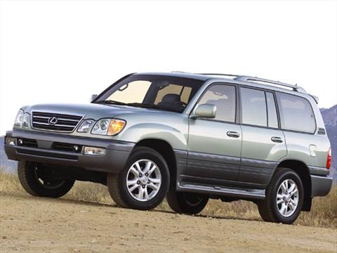 2005 Lexus LX LX 470 Sport Utility 4D  photo