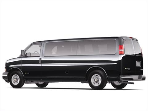 2006 Chevrolet Express 1500 Passenger LS Van 3D  photo