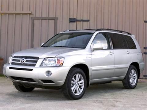 2006 Toyota Highlander Hybrid Limited Sport Utility 4D  photo
