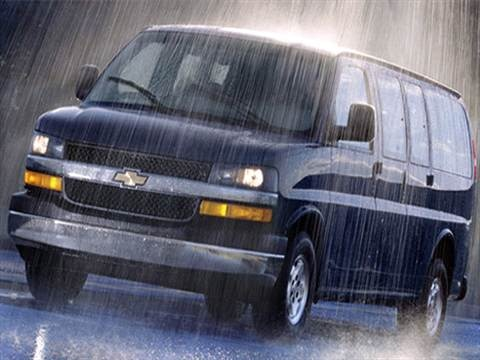 2007 Chevrolet Express 1500 Passenger LS Van 3D  photo