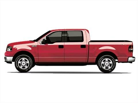 2007 Ford F150 SuperCrew Cab King Ranch Pickup 4D 5 1/2 ft  photo