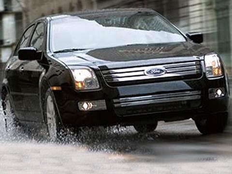2007 Ford Fusion S Sedan 4D  photo