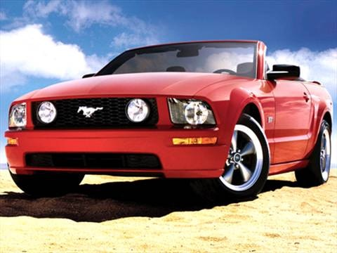 2007 Ford Mustang GT Deluxe Convertible 2D  photo