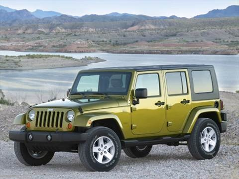 2007 Jeep Wrangler Unlimited X Sport Utility 4D  photo