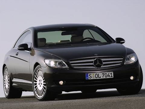 2007 Mercedes-Benz CL-Class CL550 Coupe 2D  photo