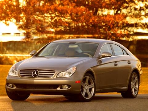 2007 Mercedes-Benz CLS-Class CLS550 Coupe 4D  photo