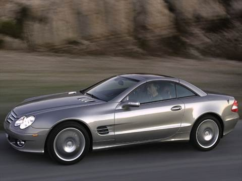 2007 Mercedes-Benz SL-Class SL550 Roadster 2D  photo