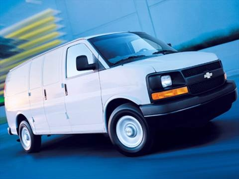 2008 Chevrolet Express 1500 Cargo Van 3D  photo
