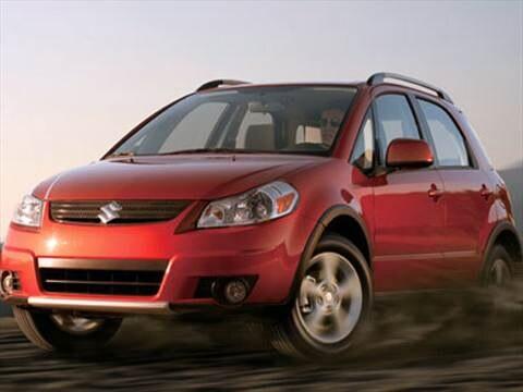 2008 Suzuki SX4 Hatchback 4D  photo