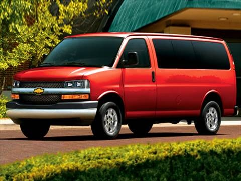 2009 Chevrolet Express 2500 Passenger LS Van 3D  photo