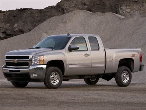 2009 Chevrolet Silverado 2500 HD Extended Cab Work Truck Pickup 4D 6 1/2 ft  photo