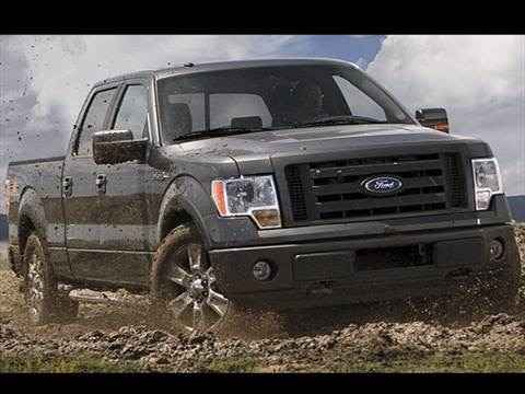 2009 Ford F150 SuperCrew Cab XL Pickup 4D 5 1/2 ft  photo