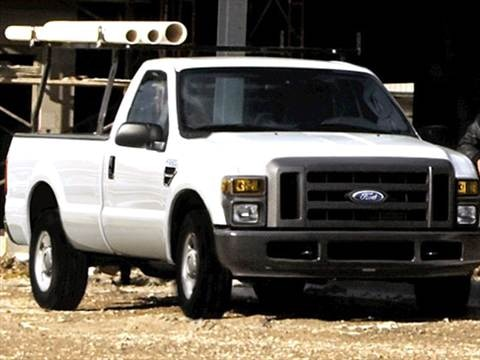 2009 Ford F350 Super Duty Regular Cab XL Pickup 2D 8 ft  photo
