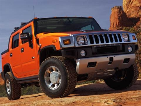 2009 HUMMER H2 SUT Sport Utility Pickup 4D 3 ft  photo