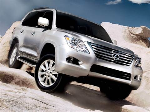 2009 Lexus LX LX 570 Sport Utility 4D  photo