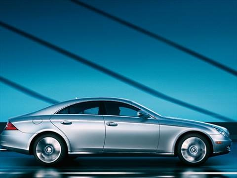 2009 Mercedes-Benz CLS-Class CLS550 Coupe 4D  photo