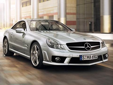2009 Mercedes-Benz SL-Class SL65 AMG Roadster 2D  photo