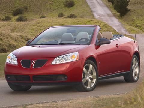 2009 Pontiac G6 GT Convertible 2D  photo
