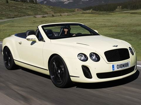 2010 Bentley Continental Supersports Convertible 2D  photo