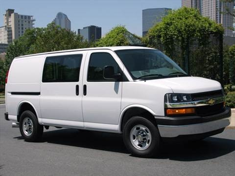 2010 Chevrolet Express 3500 Passenger LS Extended Van 3D  photo