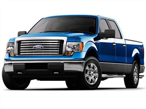 2010 Ford F150 SuperCrew Cab XL Pickup 4D 5 1/2 ft  photo