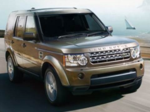 2010 Land Rover LR4 Sport Utility 4D  photo