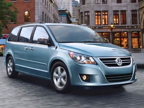 2010 Volkswagen Routan SEL Minivan 4D  photo